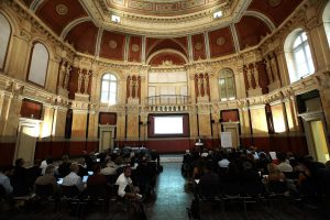 Ο πρόεδρος του ΤΕΕ Γιώργος Στασινός μιλάει στο διεθνές συνέδριο: «Βιώσιμες Αγορές Ακινήτων – Πολιτικό Πλαίσιο και Αναγκαίες Μεταρρυθμίσεις» που διοργάνωσε το Τεχνικό Επιμελητήριο Ελλάδας (ΤΕΕ) σε συνεργασία με τη Διεθνή Ομοσπονδία Τοπογράφων (FIG) και την Παγκόσμια Τράπεζα (WORLD BANK) στην Αθήνα, τη Δευτέρα 19 Σεπτεμβρίου 2016. ΑΠΕ-ΜΠΕ/ΑΠΕ-ΜΠΕ/ΣΥΜΕΛΑ ΠΑΝΤΖΑΡΤΖΗ