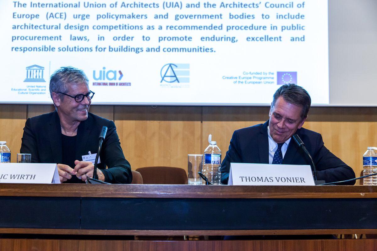 Κοινή Διακήρυξη ACE – UIA για τους Αρχιτεκτονικούς Διαγωνισμούς