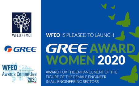 Ανακοίνωση της WFEO ( Παγκόσμια Ομοσπονδία Οργανισμών Μηχανικών) Υποβολή υποψηφιοτήτων για το « WFEO Gree Women in Engineering Award»