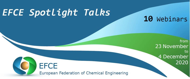 EFCE (European Federation of Chemical Engineering)  – Διοργάνωση Διαδικτυακών Σεμιναρίων