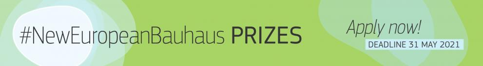 Νέα ευρωπαϊκά βραβεία Bauhaus