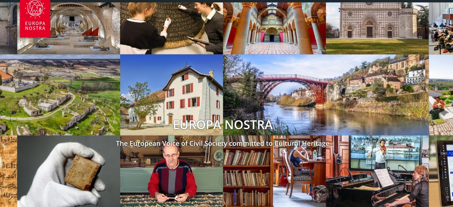 Αιτήσεις για τα βραβεία Ευρωπαϊκής Πολιτιστικής Κληρονομιάς «Europa Nostra Awards 2021»