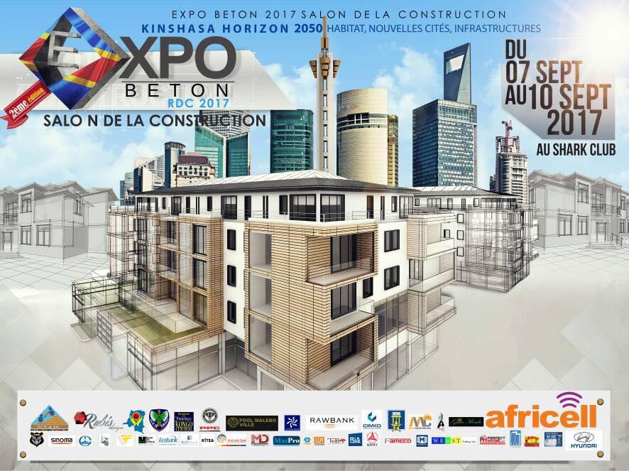 Διεθνής Έκθεση κατασκευών και υποδομών στην Κινσάσα του Κονγκό-7-10.9.2017