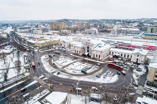 Διεθνής Αρχιτεκτονικός Διαγωνισμός για την κατασκευή Σιδηροδρομικού Σταθμού στο Βίλνιους της Λιθουανίας
